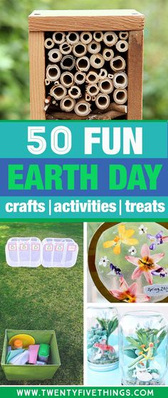 I needed some fun and simple ideas of things to do for Earth Day with the kids, and this was just what I was looking for. Lots of ideas for Earth day games and activities. day 50 Fun and Impactful Earth Day Activities for Kids of All Ages Earth Day Games, Earth Day Activities, Nature Activities, Craft Activities, Easter Activities, Earth Day Projects, Earth Day Crafts, Nature Crafts, Mothers Day Crafts