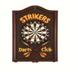 STRIKERS DARTBOARD CABINET   $173