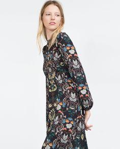 PRINTED DRESS - View all - Dresses - WOMAN | ZARA Serbia