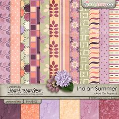 Indian Summer Add On Papers