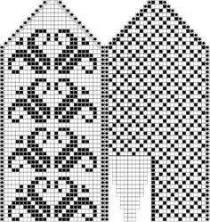 Как связать варежки спицами Knitting Charts, Knitting Stitches, Knitting Socks, Knitting Designs, Knitting Projects, Hand Knitting, Knitting Patterns, Knitted Mittens Pattern, Crochet Mittens