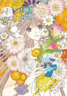 "Kobato Hanato from ""Kobato"" series by manga artist group CLAMP. 5 Anime, Anime Love, Kawaii Anime, Otaku, Bd Comics, Anime Comics, Manhwa, Fanart, Dreamworks"