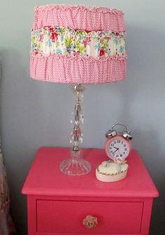 ruffled dress lampshade