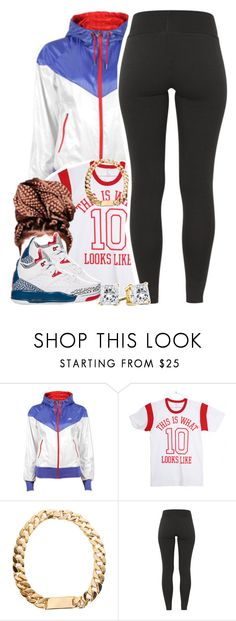 """""""Untitled #1338"""" by lulu-foreva ❤ liked on Polyvore featuring NIKE"""