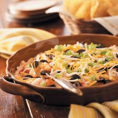Layered Shrimp Dip Recipe -People's eyes light up when I set this special snack on the table. Layered Shrimp Dip has a terrific combination of flavors and looks so pretty. Once folks start dipping, they can't seem to stop. Potluck Appetizers, Make Ahead Appetizers, Appetizer Dips, Appetizer Recipes, Seafood Appetizers, Christmas Appetizers, Christmas Treats, Dip Recipes, Seafood Recipes