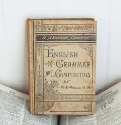 English Grammar and Composition vintage book