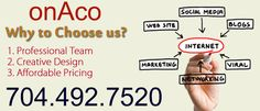 Why choose us at onaco website design