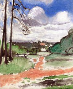 Chalais-Meudon, Henri Matisse (1917)