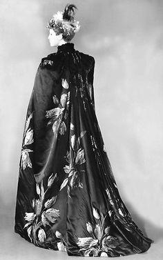 """Tulipes Hollandaises"" (textile), Worth, 1889, The Met"