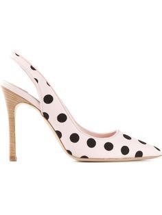HOGAN Katie Grand polka dot pumps - on Vein - getvein.com