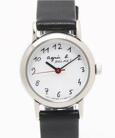 agnes b. FEMME (レディース)(アニエスベーファム)のLM02 WATCH(腕時計)|ブラック