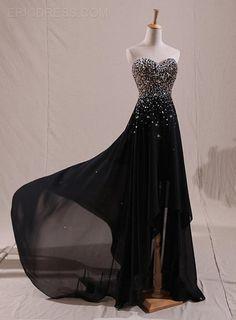 Sparkling Sweetheart Beaded High-Lo Evening Dress Popular Prom Dresses- ericdress.com 11151405