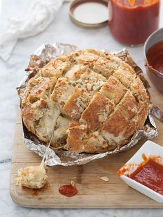 Cheesy Pizza Bread