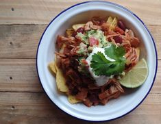 Mexican pulled jackfruit recipe - vegetarian and can be made vegan too!