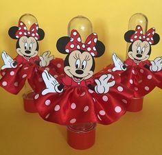 Ideias e Inspirações de Festa Infantil - Tema Minnie Vermelha - Amo Festas
