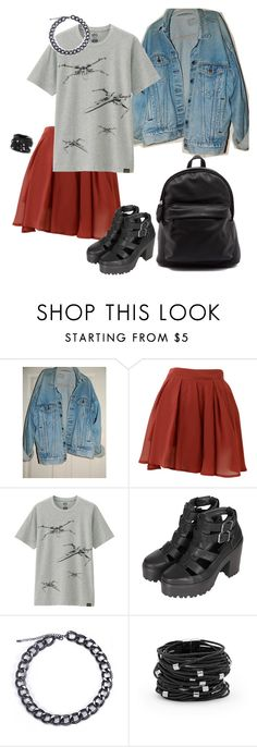 """""""What I'd wear"""" by prusius on Polyvore featuring Levi's, Uniqlo, Topshop, Chico's, women's clothing, women, female, woman, misses and juniors"""