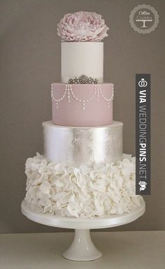 10 Gorgeous Textured Wedding Cakes Intimate Weddings Small