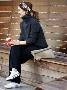 Popular Outfit Ideas Cold Weather To Wear Right Now outfit ideas cold weather, Fashion Inspiration Mode Outfits, Casual Outfits, Fashion Outfits, Womens Fashion, Cold Weather Outfits Casual, Fashion Fashion, Japan Fashion, Daily Fashion, Look Street Style