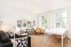 Appartamento a Copenaghen, Danimarca. I offer this lovely apartment on Nørrebro. Located on a quiet street. It's close to cafes, restaurants and shopping-streets. It has a great kitchen, bedroom and a livingroom. Very easy transport from airport.  Hi! My name is Sofie, Welcome to my s...