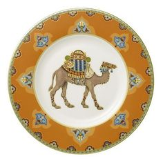 I just love this middle eastern motif...check out the rest of the pattern Villeroy & Boch