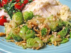 Nutty Warm Brussels Sprouts Salad Recipe - Food.com
