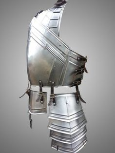 "Steel Armor The Dwarven Cuirass-Chest-Back by IronWoodsShop - Awesome reference and inspiration - From my ""liked pins"""