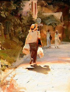 A Street in Rome by Kim English Kim English, Painting People, Figure Painting, Traditional Paintings, Traditional Art, Brancusi Sculpture, Figurative Kunst, English Artists, Beautiful Paintings