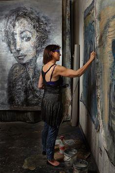 Figurative #British #Painter and Printmaker Corinna Button