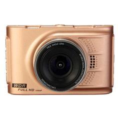 A10 1080p 3 pulgadas video de la cámara del vehículo del dvr del coche de la visión accidente full hd lcd noche