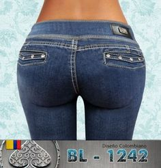 Vista trasera Jeans push Up  $389