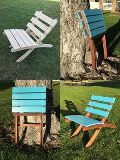 Amazing Unique Art Chair Design And Ideas Diy Furniture Chair, Diy Chair, Outdoor Furniture, Furniture Design, Outdoor Dining Chair Cushions, Outdoor Seating, Outdoor Decor, Outdoor Lounge, Dining Chairs