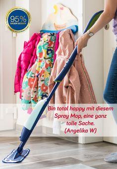 Bin total happy mit diesem Spray Mop, eine ganz tolle Sache. (Angelika W)   #hygiene #allergien Ballet Skirt, Fashion, Allergies, Awesome Things, Remodels, Moda, La Mode, Fasion, Fashion Models