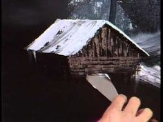 Bob Ross - Winter Night (Season 3 Episode 4) - YouTube