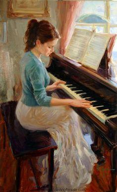 Family Melody by Vladimir Volegov