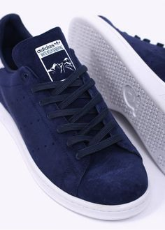 adidas Originals x White Mountaineering Stan Smith Trainers - Dark Blue