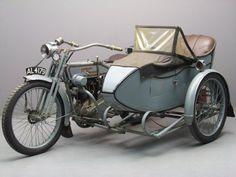 Harley Davidson 1915 11F 988cc with sidecar