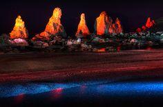 橋杭岩ライトアップ 10-11-05 | Flickr - Photo Sharing!