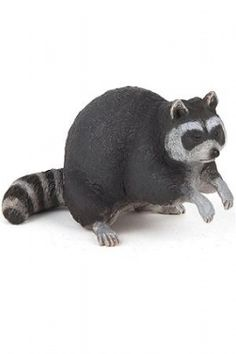 Papo Raccoon at theBIGzoo.com, a toy store featuring 3,000+ stuffed animals.