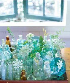 jars and bottles.