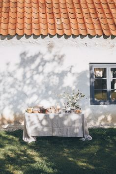 Photo Journal - Gotland, Sweden by Kati Boden edited with Scandinavian Blue Lightroom Preset Outdoor Dining, Outdoor Spaces, Sweet Home, Photo Journal, Photography Workshops, Slow Living, Fresco, Country Life, Lightroom Presets