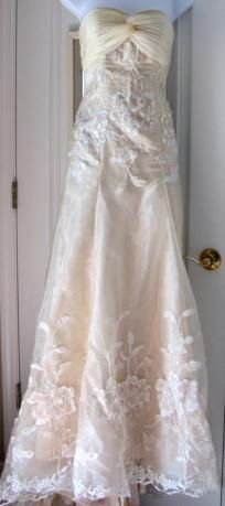 new custom made bridal gown