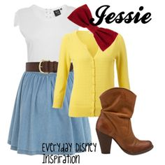 Jessie Inspired outfit (lose the sweater thingy)