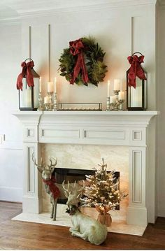 Red and Gold mantle