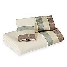 Croscill® Fairfax Bath Towels in Aqua
