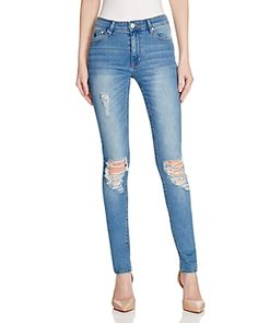 Res Denim Kitty Distressed Skinny Jeans in Vintage