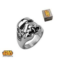 Star Wars Stormtrooper Ring  http://www.awesomestarwarsstuff.com