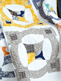 Sew Kind of Wonderful Metro Scope Quilt - Downloadable Pattern - Click Image to Close