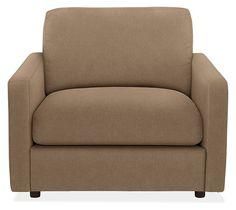 Easton Chair in Vick Khaki - Chairs - Living: Seating - Room & Board