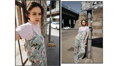 Summer in the City – P....S....fashion #ps_fashion #fashioninspiration #springstyle #summerstyle #trending #styleguide #2018 #city #streetstyle #floralprint #leaves #jumpsuit