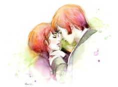 love, art, and pride and prejudice image
